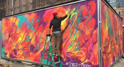 <center>Bank of America Graffiti Art</center>